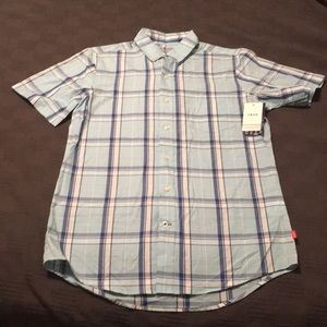 NWT Men's Izod button down shirt.